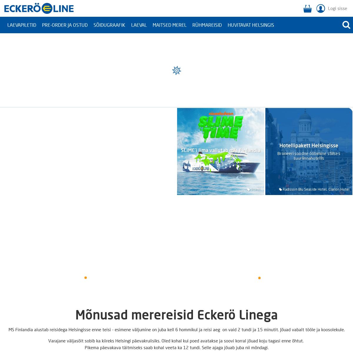 ArchiveBay.com - eckeroline.ee - Liinireisid ja päevakruiisid Helsingisse, auto- ja hotellipaketid. -Eckerö Line
