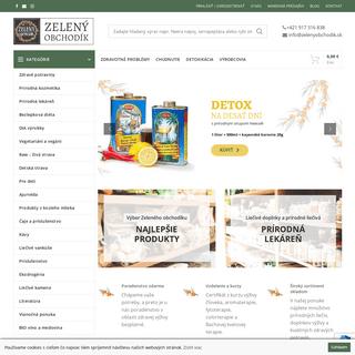 Zdravá výživa, biopotraviny a ekologické produkty - Zelený obchodík