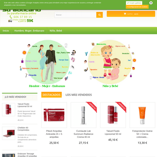 Parafarmacia online - Los mejores precios - Parafarmacia Su Boticario