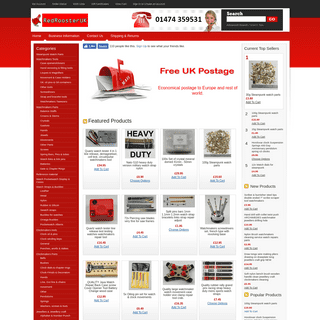ArchiveBay.com - redroosteruk.com - RedroosterUK LTD Watchmakers clockmakers & jewellers suppliers.