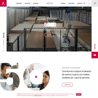 Fabricante de Mobiliario de Oficina para empresas - Actiu