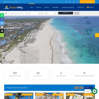 Paradise Holiday Las Terrenas Venta y Alquiler-Real Estate -Immobilier