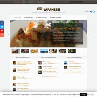 Go Japanese! - Japanese Food, Japanese Culture and Japanese Travel
