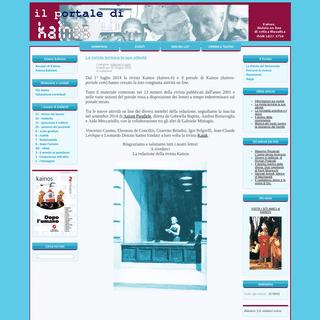 ArchiveBay.com - kainos-portale.com - IL PORTALE DI KAINOS - Homepage