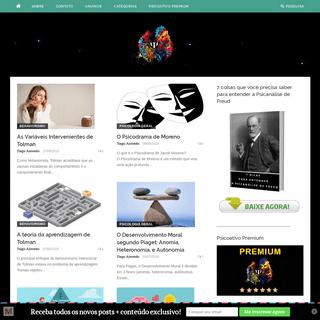 Psicoativo ⋆ Universo da Psicologia - O maior site de Psicologia científica do Brasil!