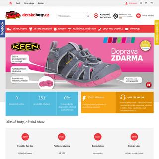Dětské boty, dětská obuv - Dětskéboty.cz