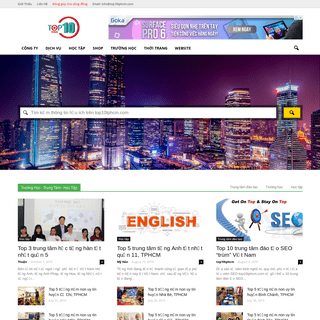 TPHCM - top dịch vụ, công ty, shop, địa điểm uy tín tại TPHCM