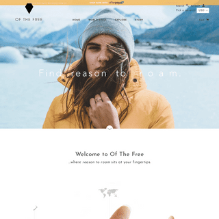 Of The Free - Find Adventure At Your Fingertips