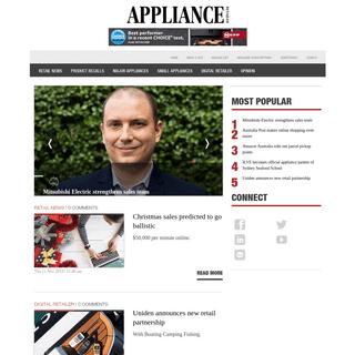 ArchiveBay.com - applianceretailer.com.au - Electronics & Whitegoods News -- Appliance Retailer