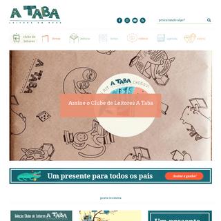 ArchiveBay.com - ataba.com.br - Dicas de Livros e Formação de Leitores - Clube de Leitores A Taba