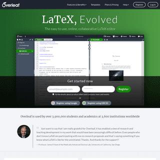 ArchiveBay.com - overleaf.com - Overleaf, Online LaTeX Editor