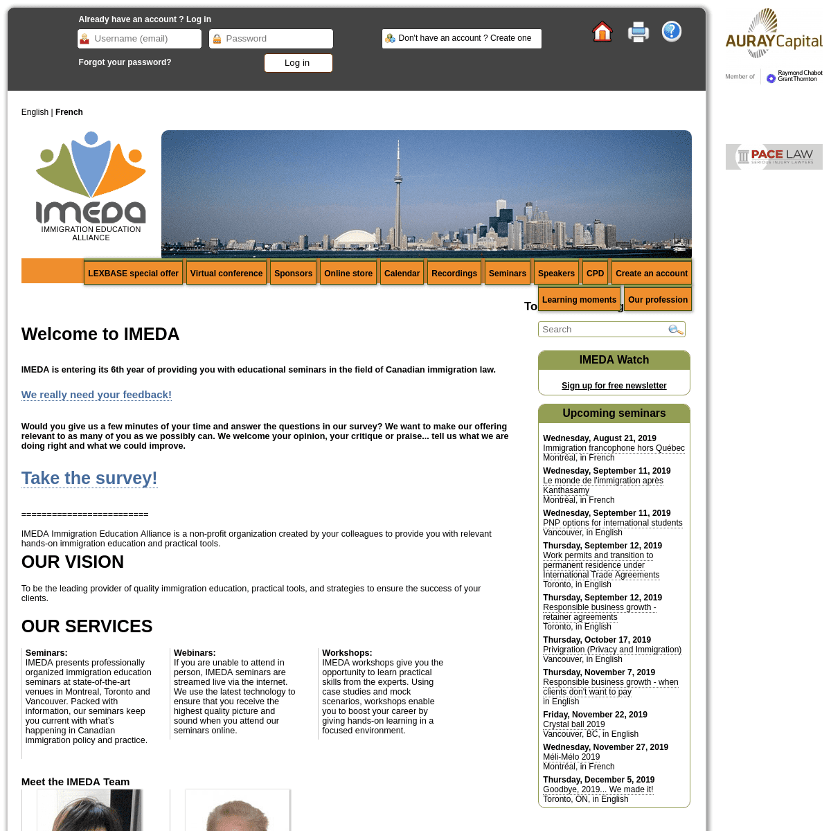 ArchiveBay.com - imeda.ca - Welcome to IMEDA