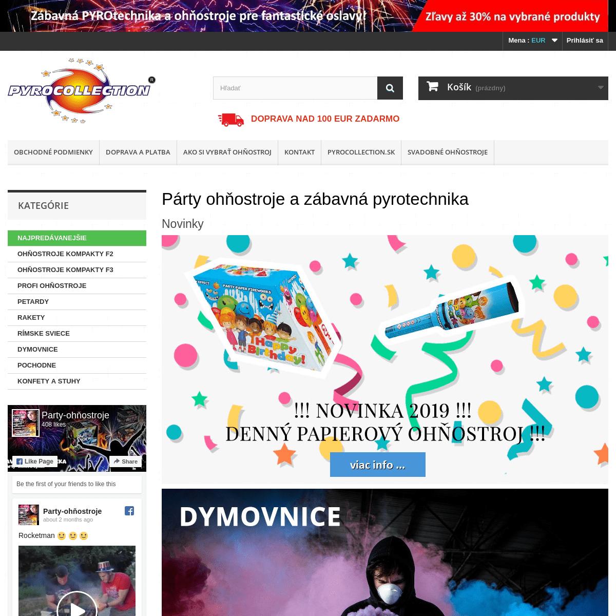 ArchiveBay.com - party-ohnostroje.sk - Ohňostroje a pyrotechnika - party-ohnostroje.sk