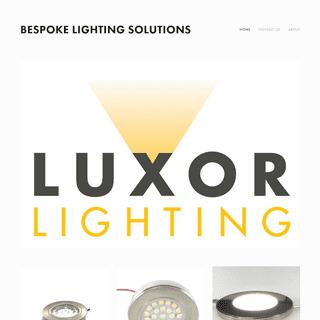 ArchiveBay.com - luxorlighting.co.uk - Bespoke Lighting Solutions