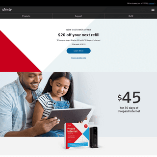 XFINITY Prepaid Internet & Instant TV