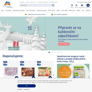 dm online shop - Vaše oblíbená online drogerie