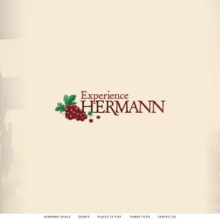 Experience Hermann Missouri - Hermann Missouri Welcomes You