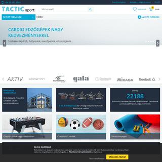 TacticSport -Sportszer - Fitnesz - Wellness - Webáruház