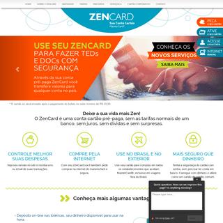 ArchiveBay.com - zencard.com.br - ZenCard - Sua Conta Cartão