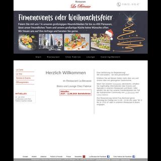 Restaurant La Bécasse in Dillingen - Eine Verführung zur Begeisterung !