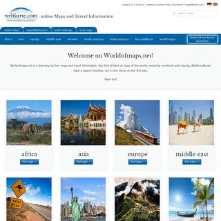 ArchiveBay.com - worldofmaps.net - Landkarten von world of maps - Weltkarte.com - Karten und Stadtpläne der Welt