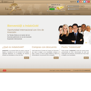 IndaloGold.com- Tienda Online de Oro