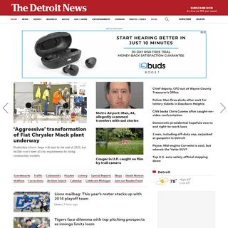 Detroit Local News - Michigan News - Breaking News - detroitnews.com