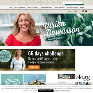 ArchiveBay.com - ulrikadavidsson.se - Ulrika Davidsson - Kostrådgivare - Officiell hemsida - Ulrika Davidsson - kostrådgivare