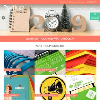 Impresión Digital y Offset Madrid y Toledo - Gráficas Martínez