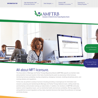 AMFTRB – Association of Marital & Family Therapy Regulatory Boards
