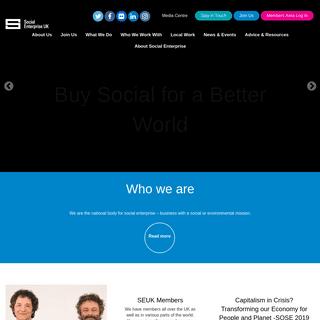 Social Enterprise UK - Home