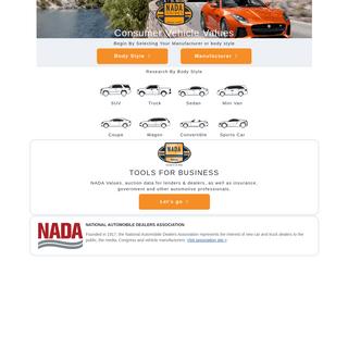 ArchiveBay.com - nada.com - NADA Blue Book - Used Car Values - NADA