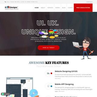 Freelance Web Designer, UI-UX Designer, Developer in Delhi, India - Ravi Sah