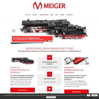 ArchiveBay.com - meiger-modellbahnparadies.de - MEIGER MODELLBAHNPARADIES - Die An- und Verkaufprofis