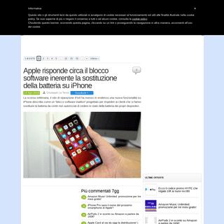 iPhone Italia - Il blog italiano su Apple iPhone XS e XS Max, iPhone XR e iPhone X