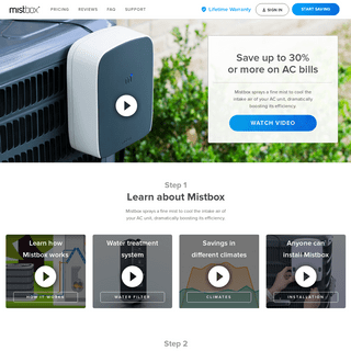 Mistbox- Save on AC Bills - 2nd Generation Now Available