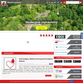 Miasto Łęczyca – Urząd Miejski w Łęczycy