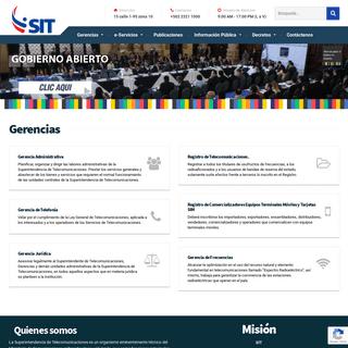 SIT – Superintendencia de Telecomunicaciones