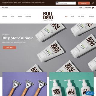 ArchiveBay.com - bulldogskincare.com - Skincare, Shaving and Grooming for Men - Bulldog Skincare