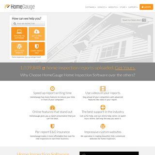 Home Inspection Software by HomeGauge