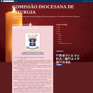 COMISSÃO DIOCESANA DE LITURGIA