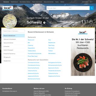 local.ch - Offizielles Telefonbuch und Gelbe Seiten der Schweiz