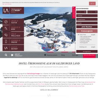 Vier-Sterne-Superior Hotel Salzburger Land - Übergossene Alm Resort