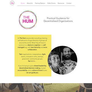 Self-management consulting - The Hum
