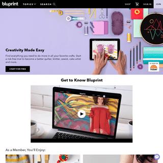 Bluprint - Watch + Learn