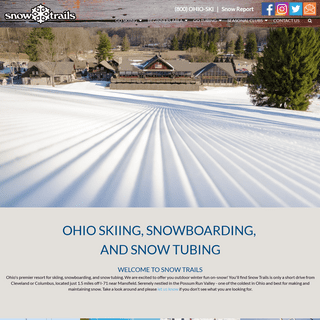 Ohio Skiing, Snowboarding, and Snow Tubing