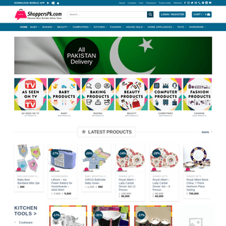 Pakistan Most Reliable Online Shopping - ShoppersPk.com
