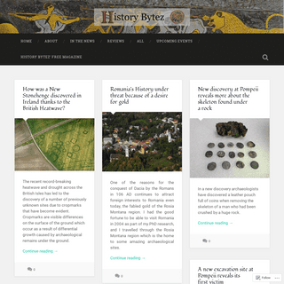 History Bytez – Byte Sized bits of History