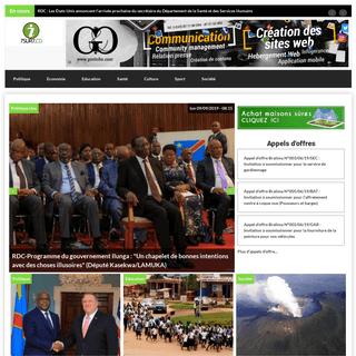 Le plus grand site d'infos en RDC - 7sur7.cd