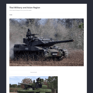 Thai Military and Asian Region - Latest News & Weapons from around the world